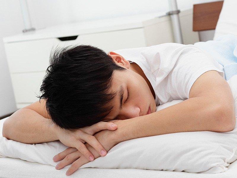 оптимальное положение для сна