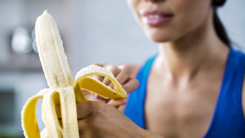 банановый смузи с овсянкой