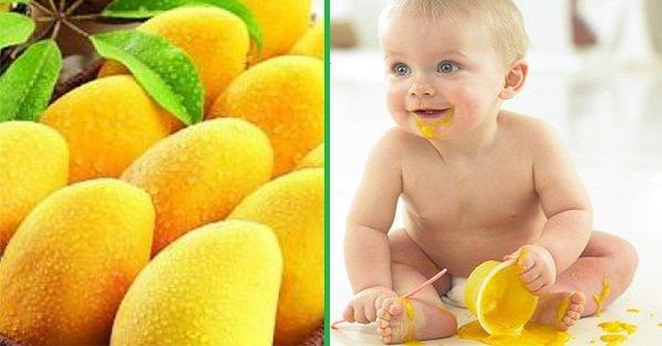 Полезные свойства манго для твоего ребенка: побалуй малыша необычным фруктом!