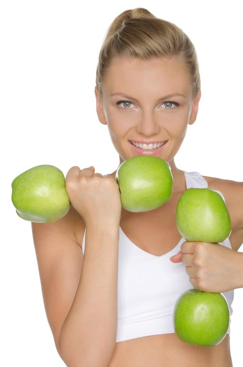 Яблоки о пользе для похудения