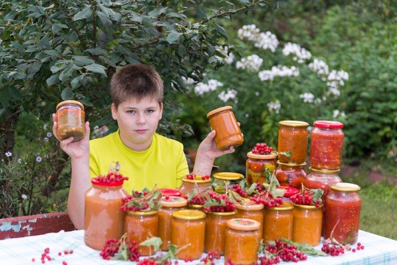 помидоры с болгарским перцем на зиму