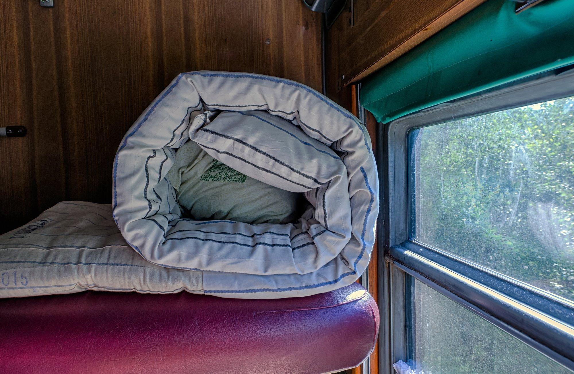 попутчики в поезде