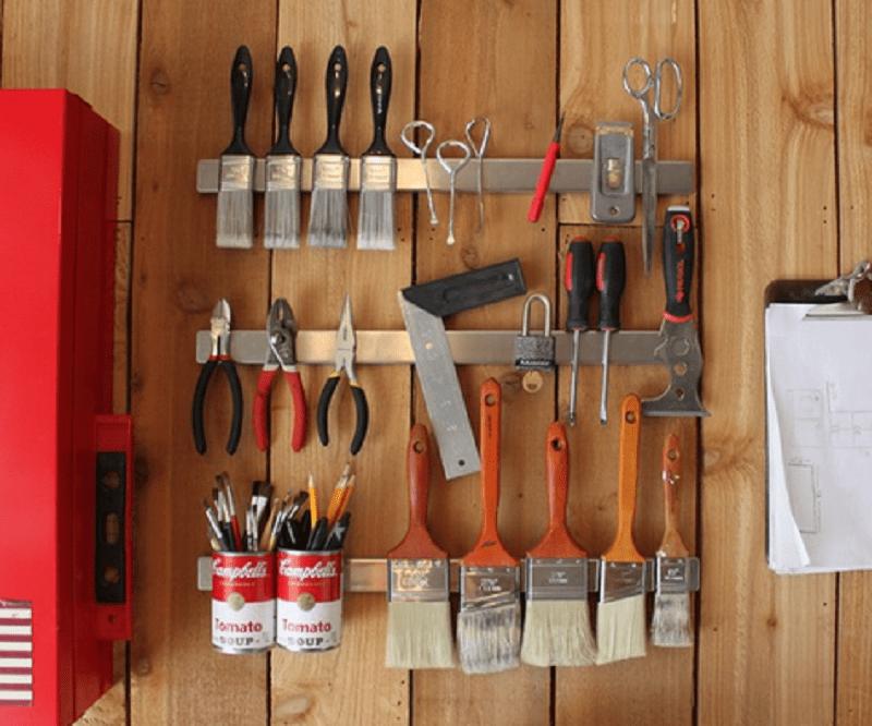 как правильно навести порядок в гараже