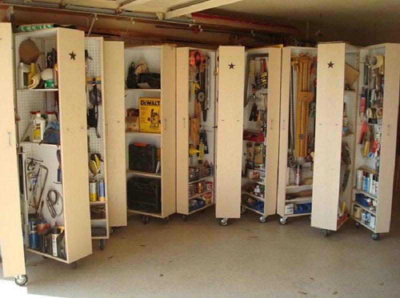 ako upratať neporiadok v garáži