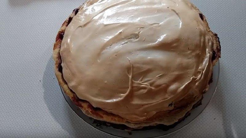 крем для торта шоколадный