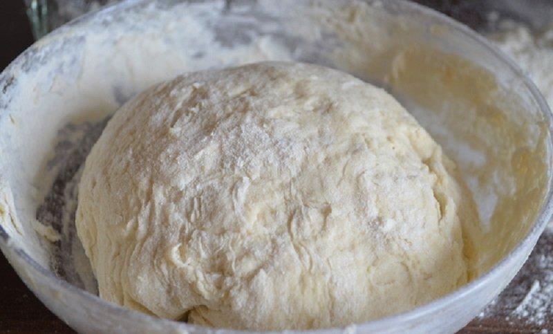 дрожжевое тесто на воде для пирожков