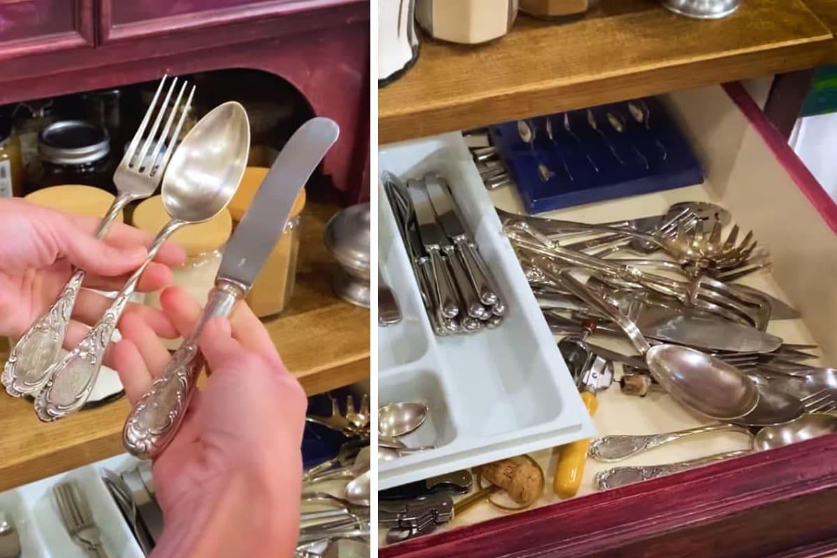 Для чего Юлия Высоцкая скупает посуду на блошиных рынках Вдохновение,Дом,Знаменитости,Кухня,Посуда