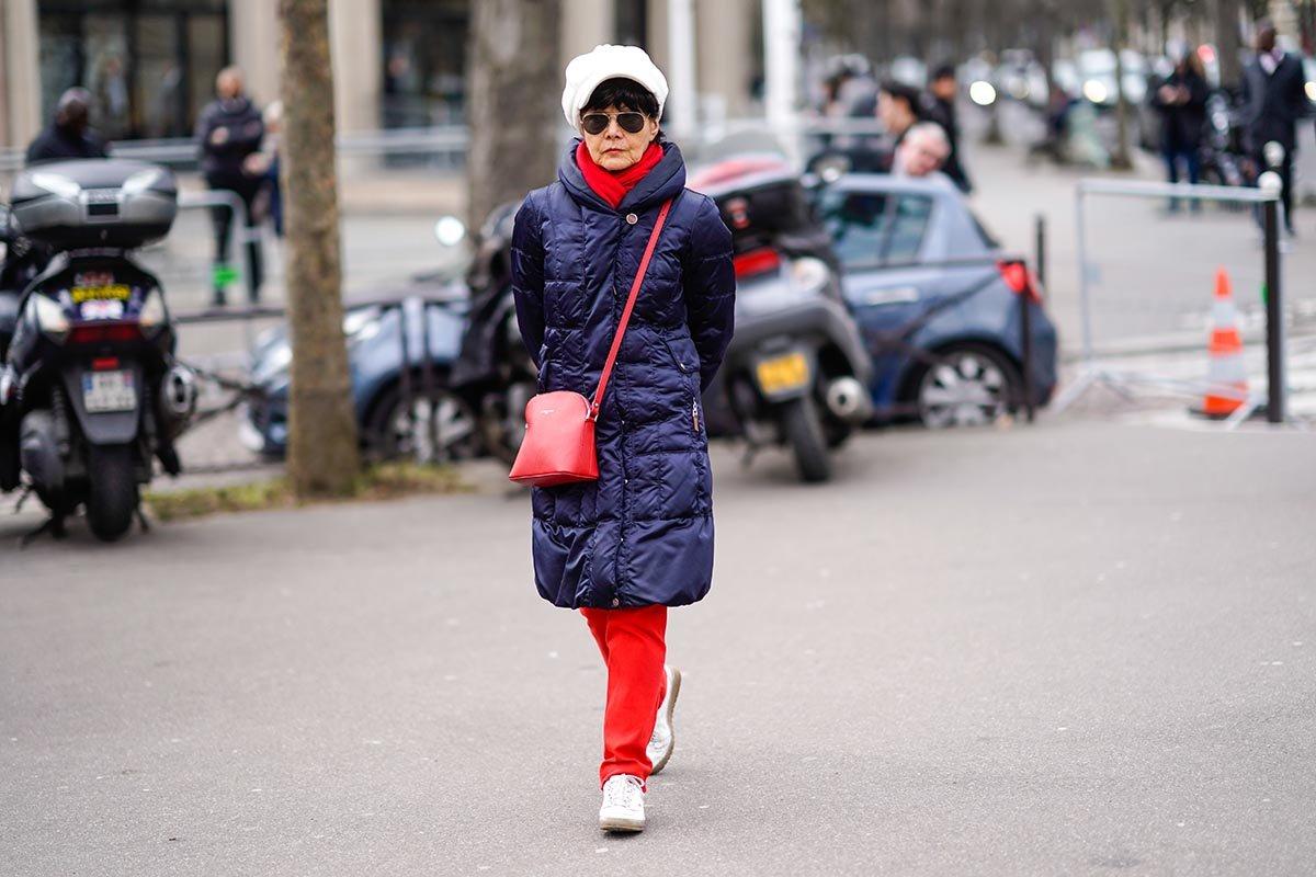 Продуманный зимний гардероб, чтобы подчеркнуть все прелести пятидесятилетнего возраста