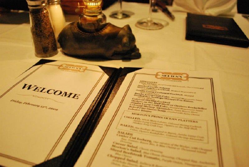 правила этикета за столом в ресторане