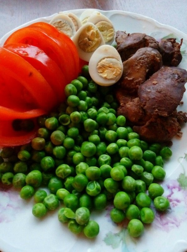 правильное питание курица с овощами