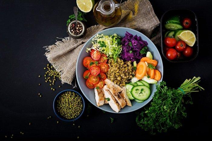 правильное питание и здоровый образ жизни