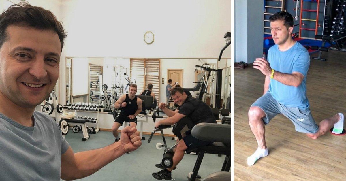 Как тренируется и питается президент Украины Владимир Зеленский thumbnail