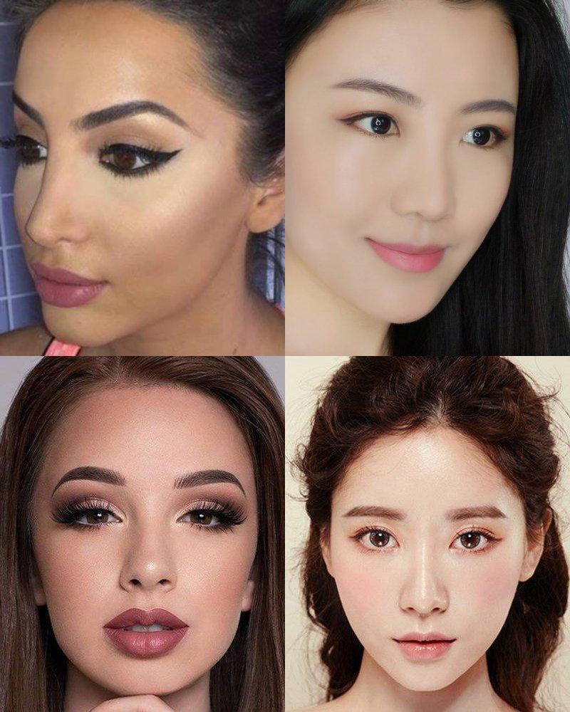 правильный макияж лица после 50