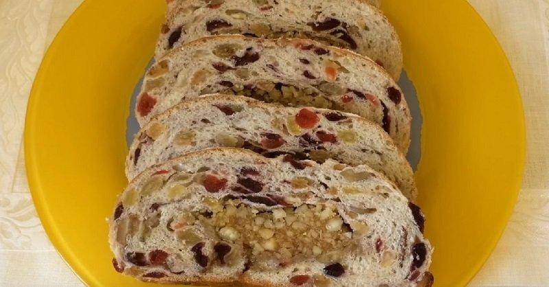 праздничный хлеб рецепт
