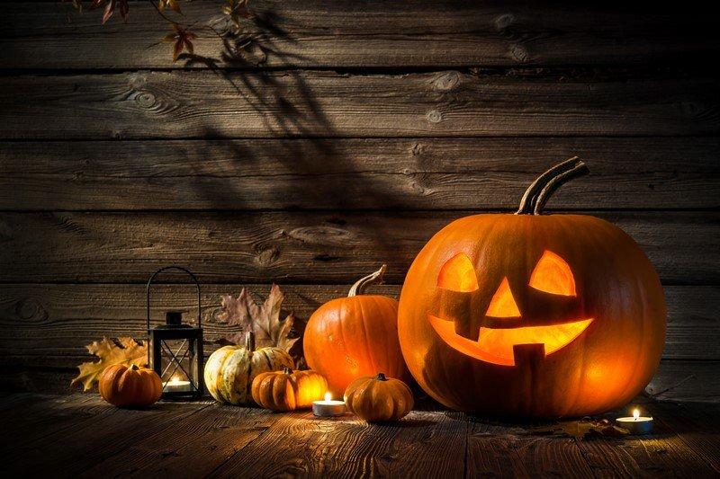 отмечаем хеллоуин дома