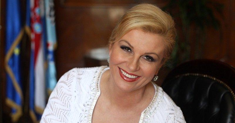 50-летняя Колинда Грабар-Китарович: президент Хорватии, красавица и всеобщая любимица