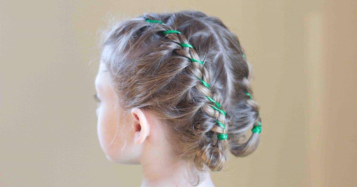 10 самых простых и красивых причесок для девочек. Твоя дочь оценит!