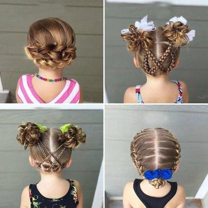 прически для детей на короткие волосы