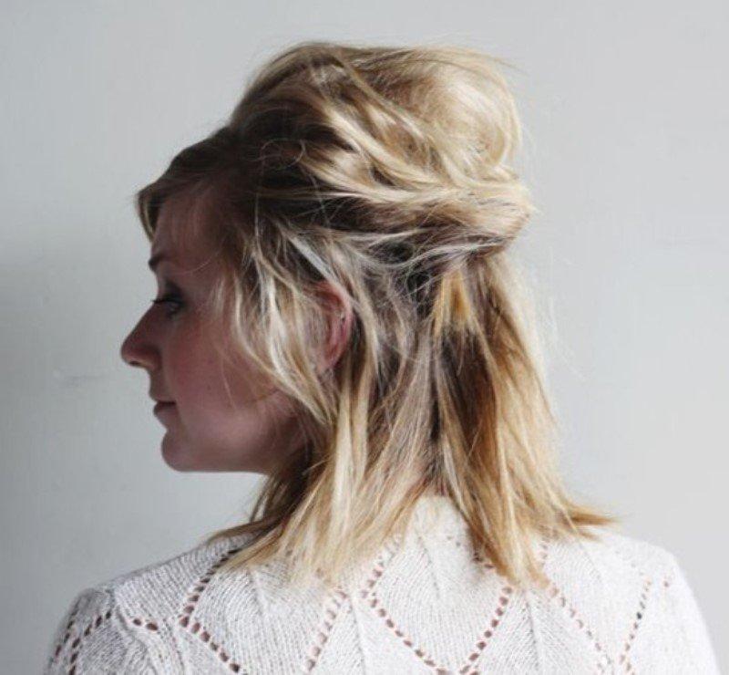 красивые прически за 5 минут на длинные волосы