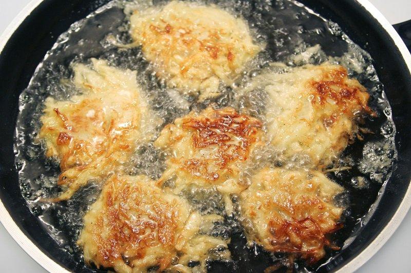 приготовление драников картофельных