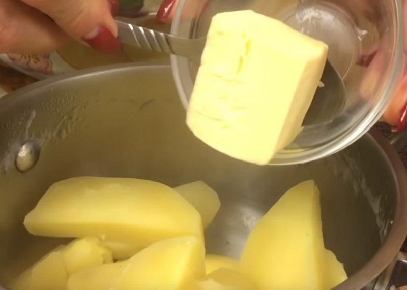 приготовление и отпуск картофельного пюре