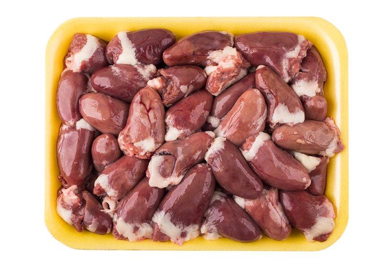приготовление куриных сердечек на сковородке