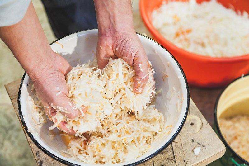 приготовление квашеной капусты быстрого приготовления