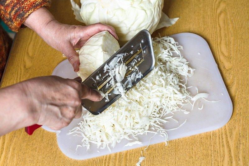 приготовление квашеной капусты в банке