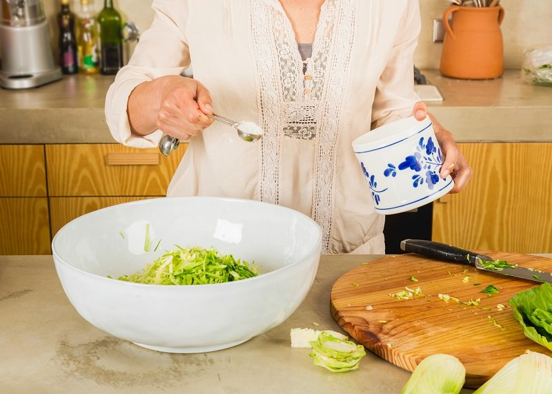 приготовить квашеную капусту в рассоле