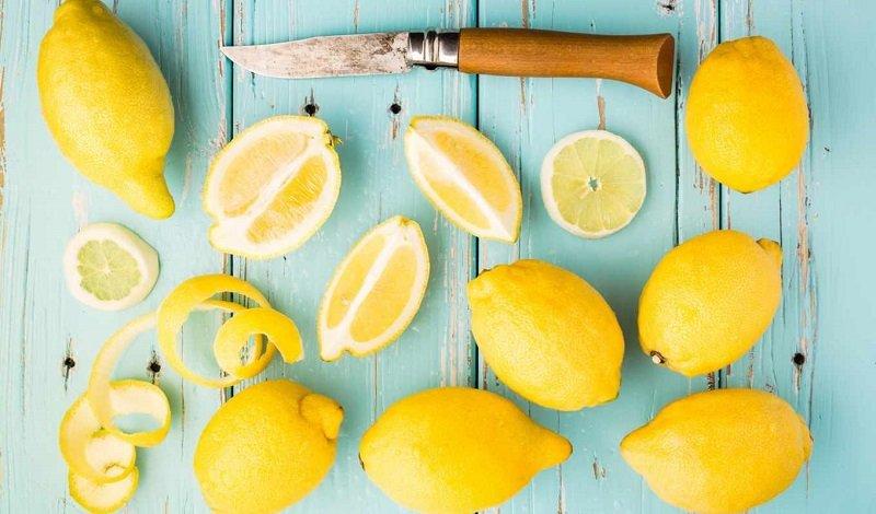 применение лимонов