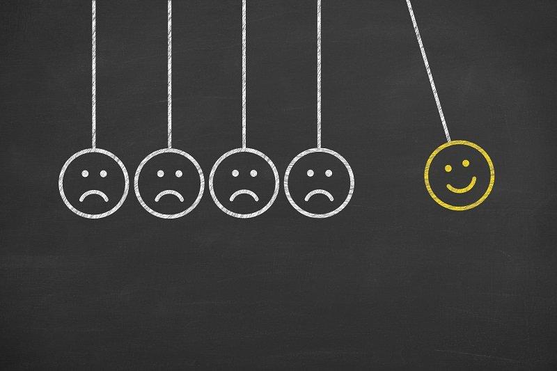признаки депрессии и стресса