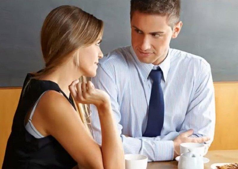 признаки симпатии мужчины к женщине