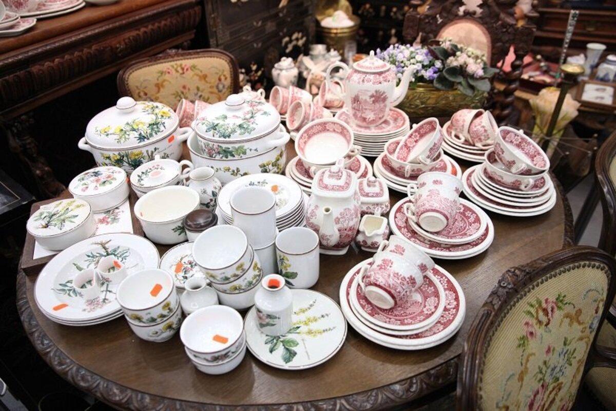 продажа антикварной посуды