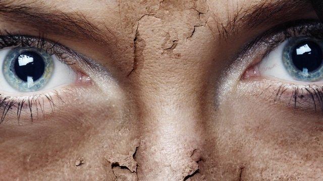 стареющая кожа вокруг глаз