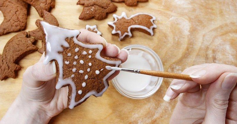 имбирное печенье с мёдом
