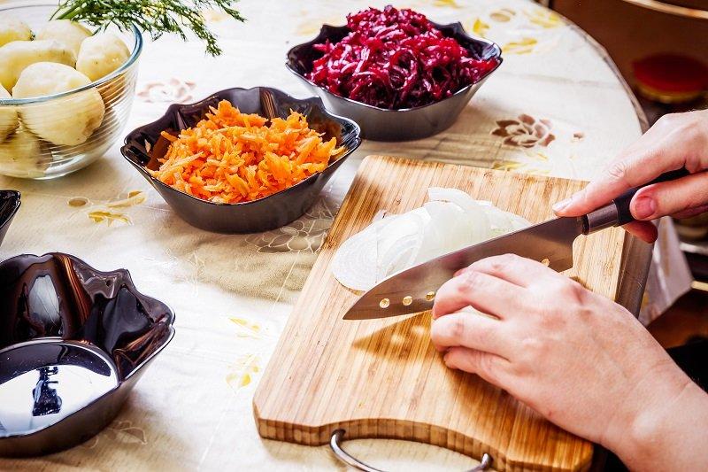рецепт салата из свеклы и курицы