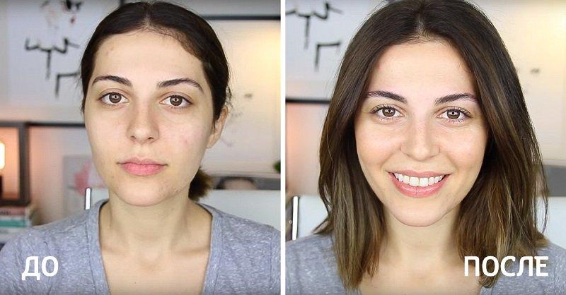 простой макияж пошагово