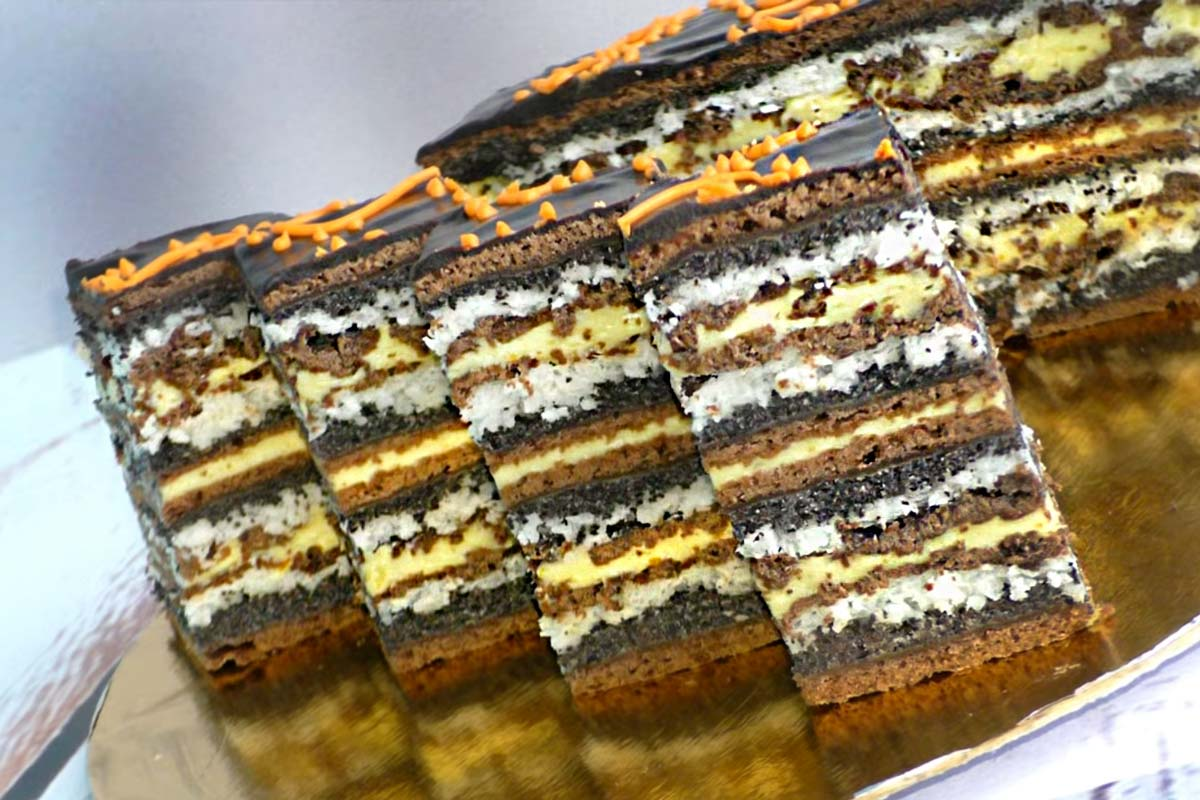 Осенний маковый пирог, от которого балдеет даже избалованный тортиками муж Кулинария,Советы,Десерты,Кокос,Крем,Мак,Пироги,Торты