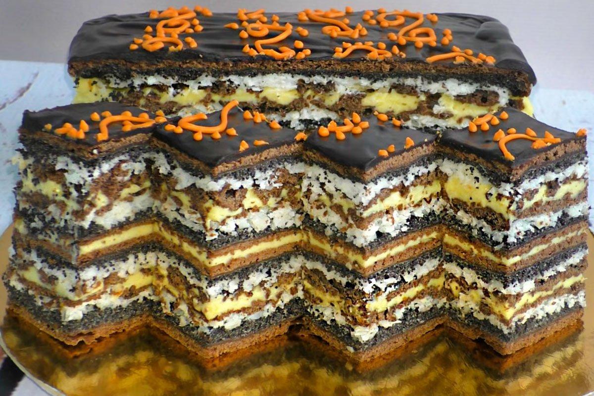 Осенний маковый пирог, от которого балдеет даже избалованный тортиками муж