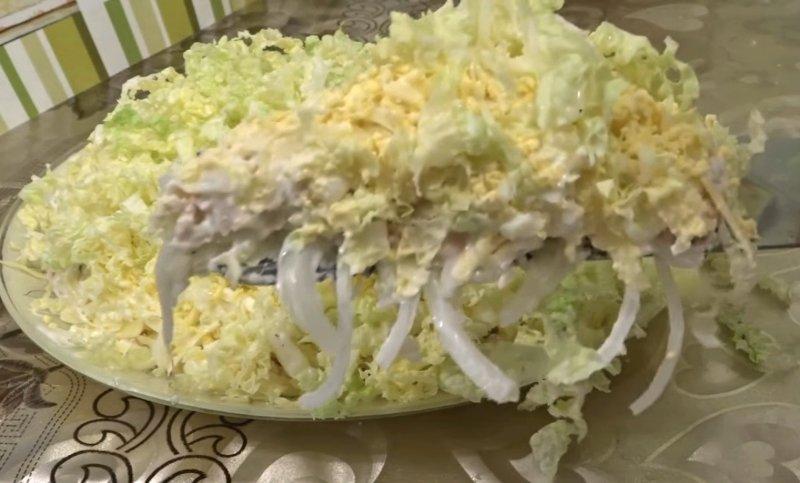 Легкий, воздушный «Лебединый пух» — тот самый салат, которого всегда не хватает