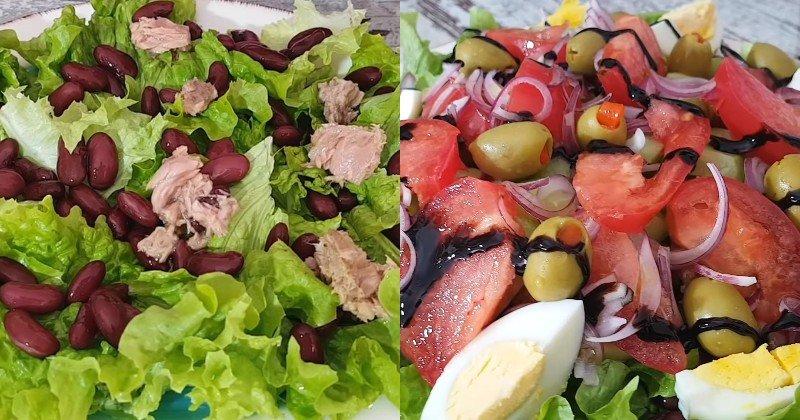 салат с тунцом самый простой