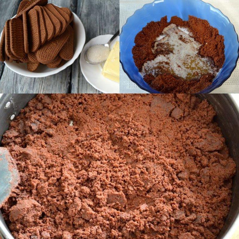 простой шоколадный торт в духовке