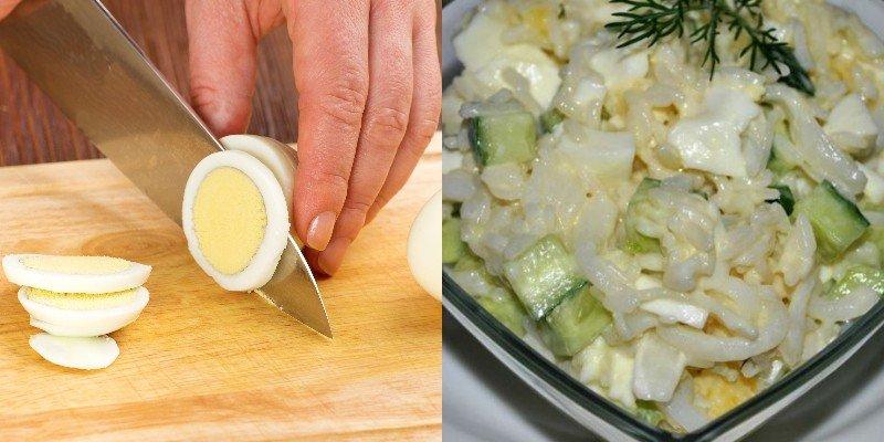 простые и быстрые салаты на каждый день