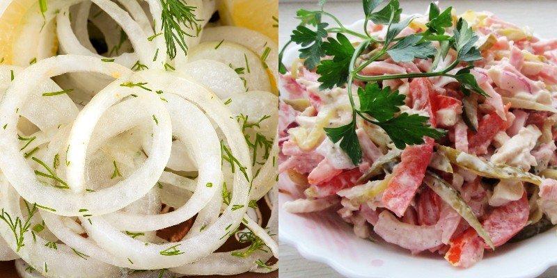 самые простые и быстрые рецепты салатов