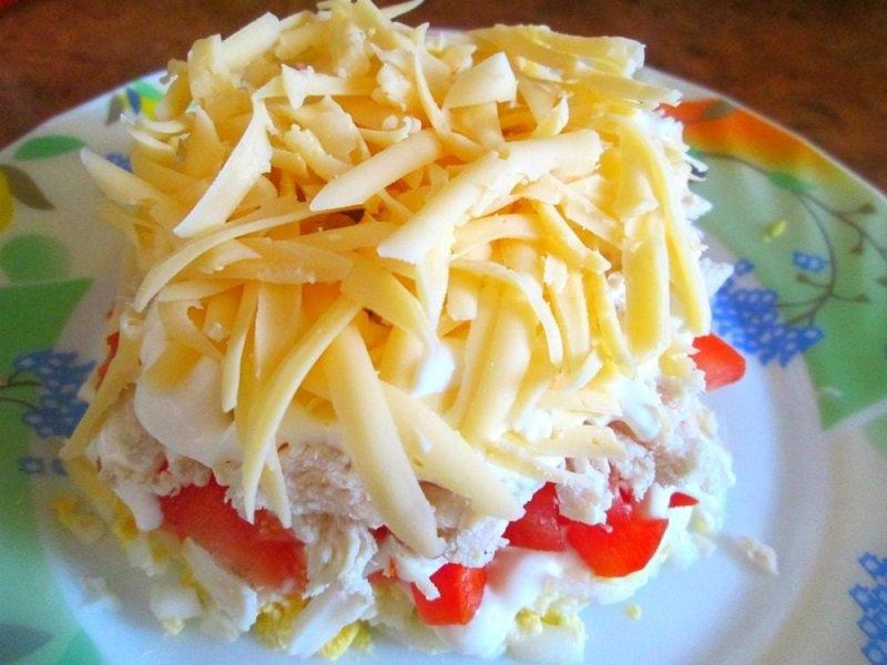 самый простой и быстрый салат