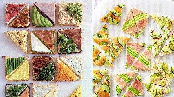 как украсить бутерброды