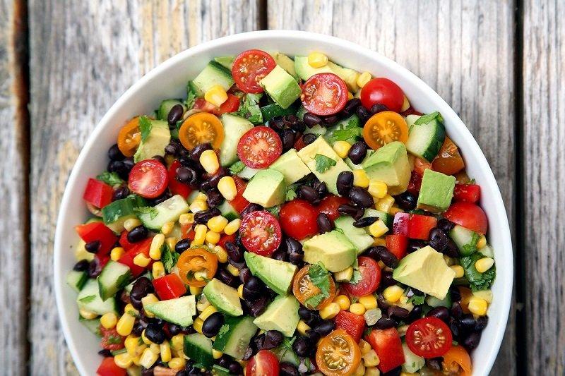 овощной салат в американском стиле