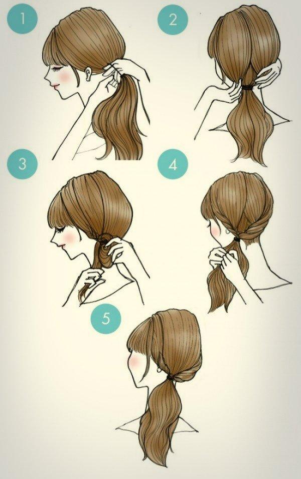Прически с косами на каждый день