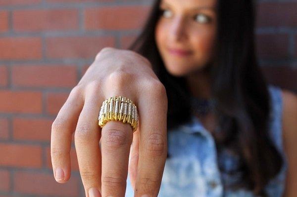 украшение из бисера кольцо фото
