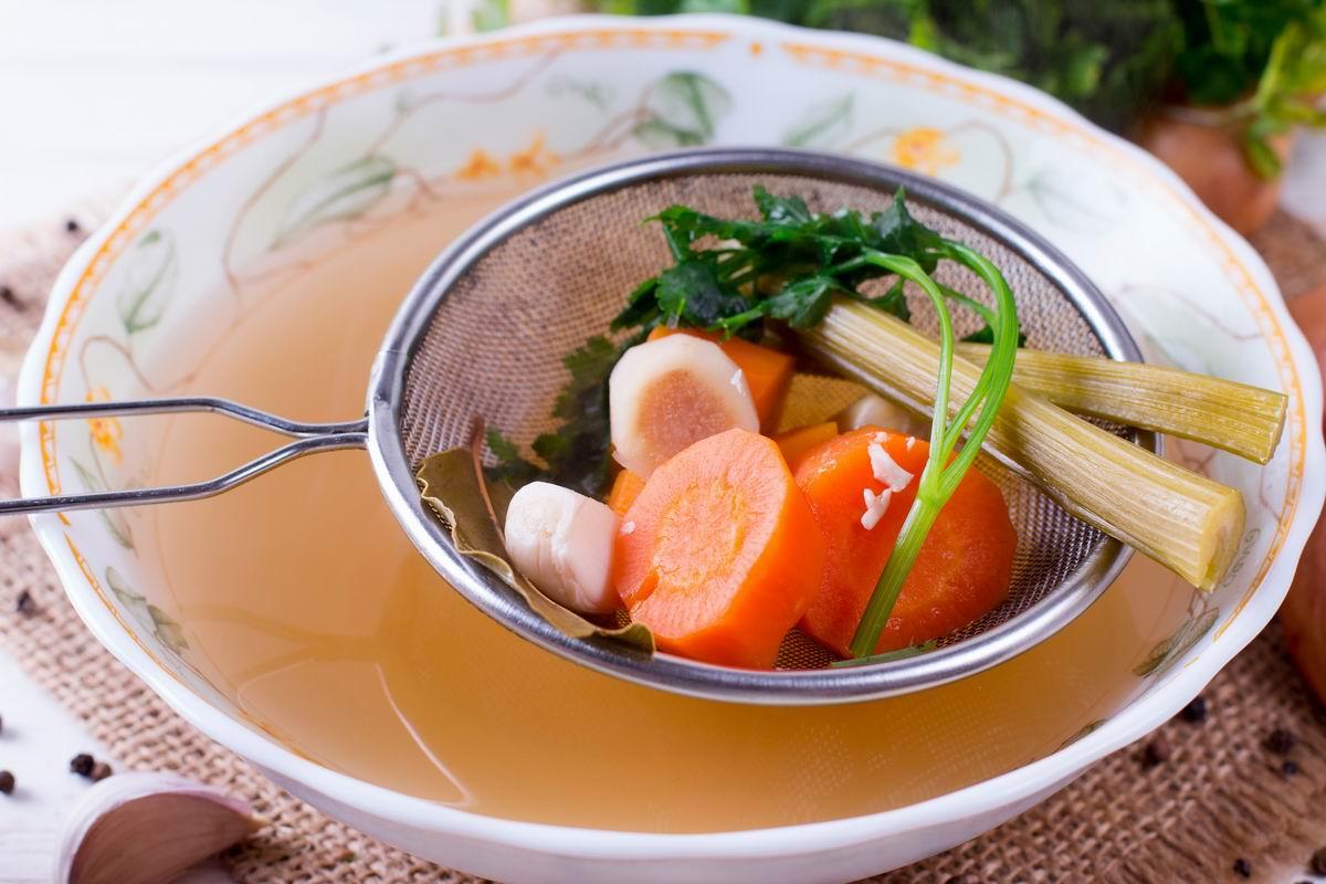 Трюк от ресторатора, чтобы крупа и макароны остались целыми в супе и не переварились Кулинария,Бульон,Крупы,Мясо,Овощи,Супы